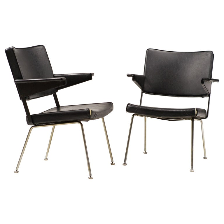 Pair of Andre Cordemeijer Armchairs For Sale