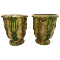 Pair of Anduze Terracotta Planters