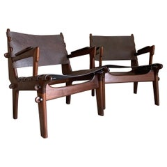 Pair of Angel Pazmino Lounge Chairs