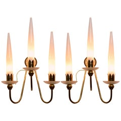 Pair of Angelo Lelli Wall Lights