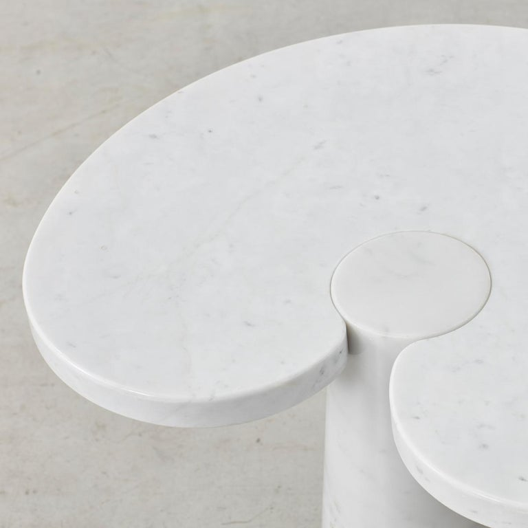 Post-Modern Pair of Angelo Mangiarotti 'Eros' Side Tables for Skipper, Italy, 1970s For Sale