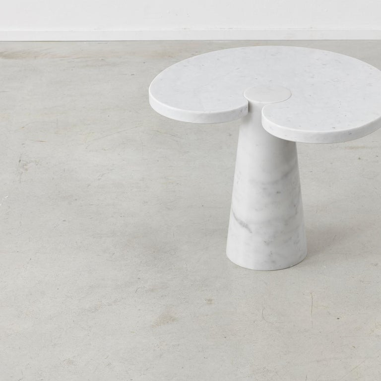 Italian Pair of Angelo Mangiarotti 'Eros' Side Tables for Skipper, Italy, 1970s For Sale