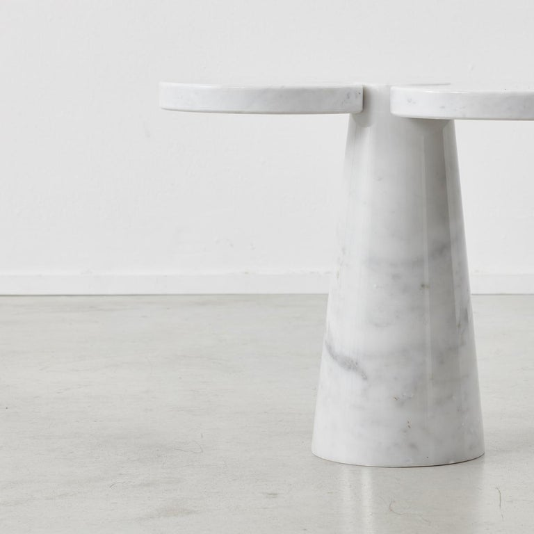 Pair of Angelo Mangiarotti 'Eros' Side Tables for Skipper, Italy, 1970s In Excellent Condition For Sale In London, GB