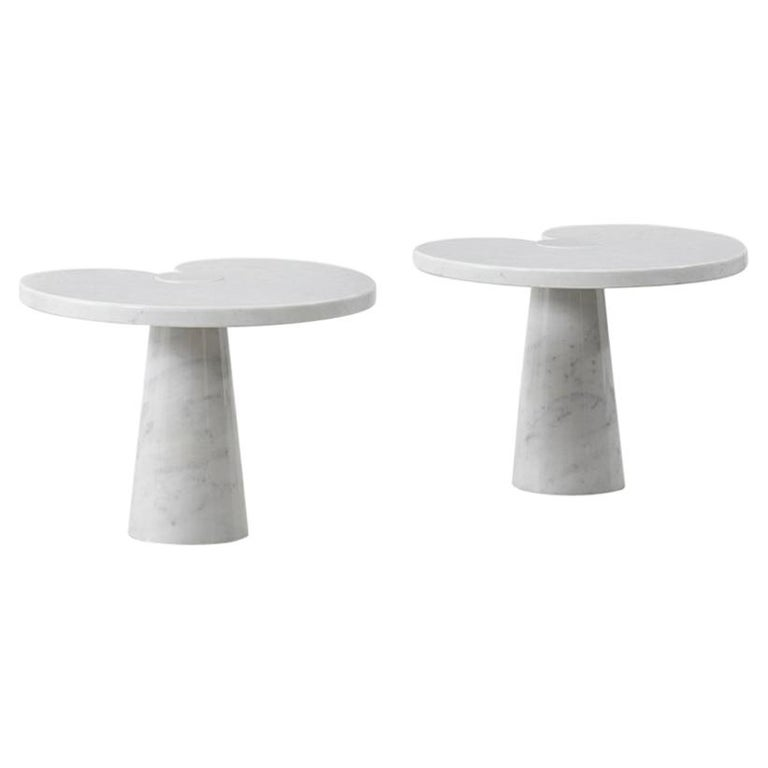 Pair of Angelo Mangiarotti 'Eros' Side Tables for Skipper, Italy, 1970s For Sale