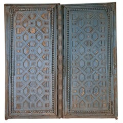 Pair of Anglo-Indian Doors