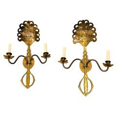 Pair of Anglo-Indian Sconces