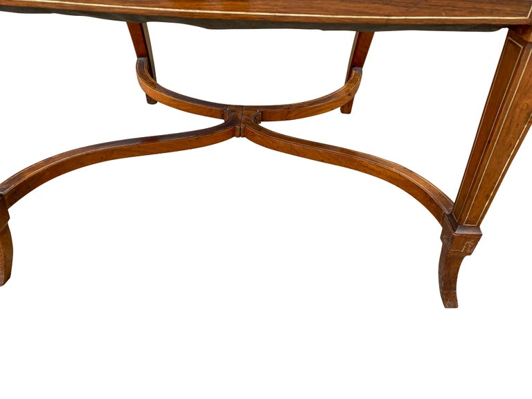 Pair of Anglo-Japanese Rosewood and Inlaid Armchairs, Collinson & Lock For Sale 4