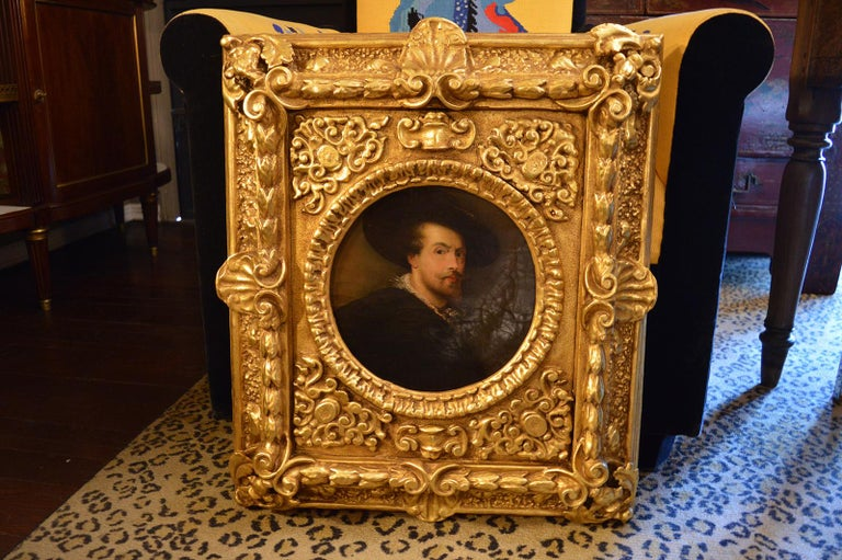 Pair of Antique 18th Century Old Master Paintings For Sale 1