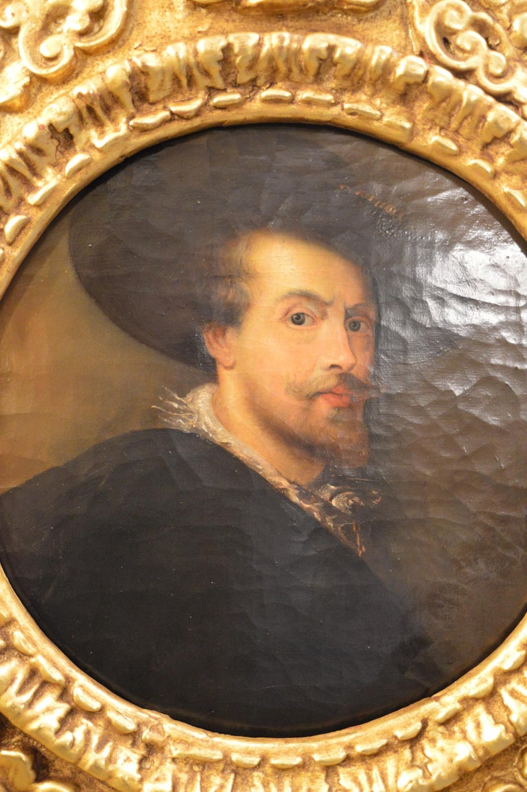 Pair of Antique 18th Century Old Master Paintings For Sale 3
