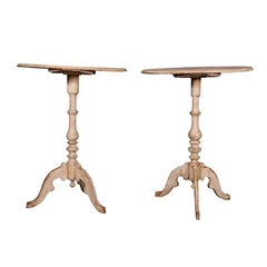 Pair of Antique 19th Century Swedish Side Tables