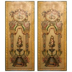 Pair of Antique 19th Century Tromp L'oeil