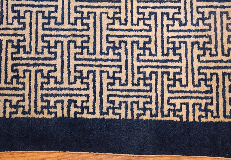 Chinese Chippendale Pair of Antique Chinese Rugs For Sale