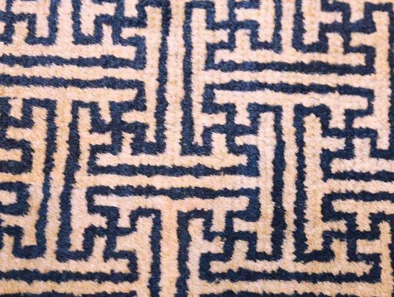 Pair of Antique Chinese Rugs In Good Condition For Sale In New York, NY