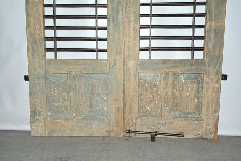 Pair of Antique Doors or Shutters from India For Sale 1