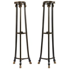 Antique Pair of Empire Pedestals