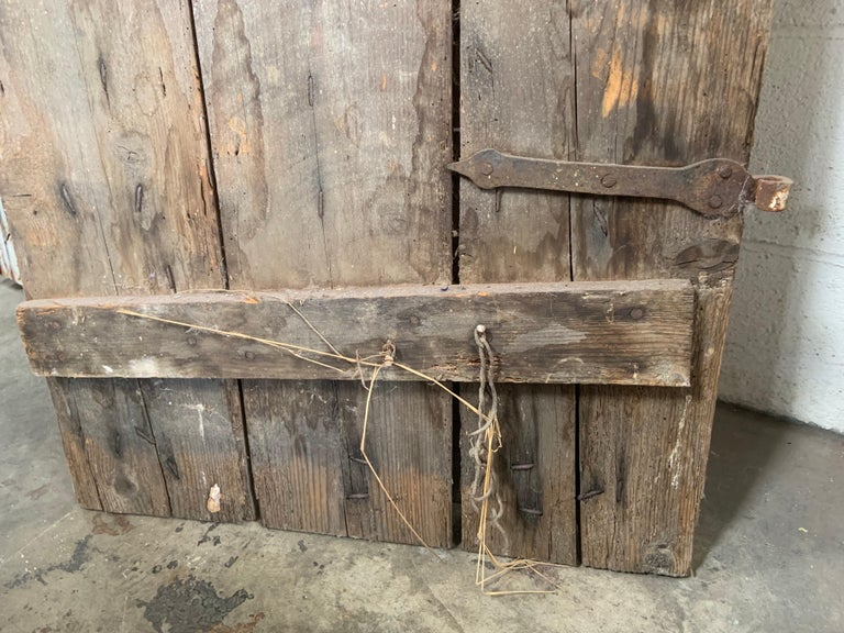 Pair of Antique European Barn Doors For Sale 6