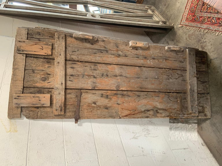 20th Century Pair of Antique European Barn Doors For Sale
