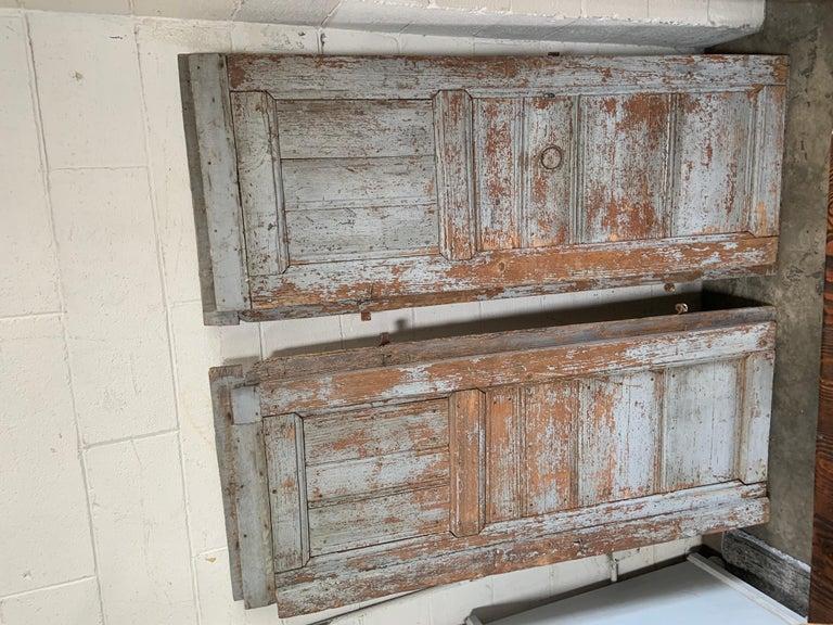 Pair of Antique European Barn Doors For Sale 4
