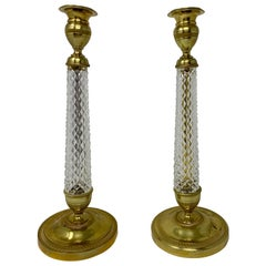 Pair of Antique French Candlesticks, circa 1910-1920