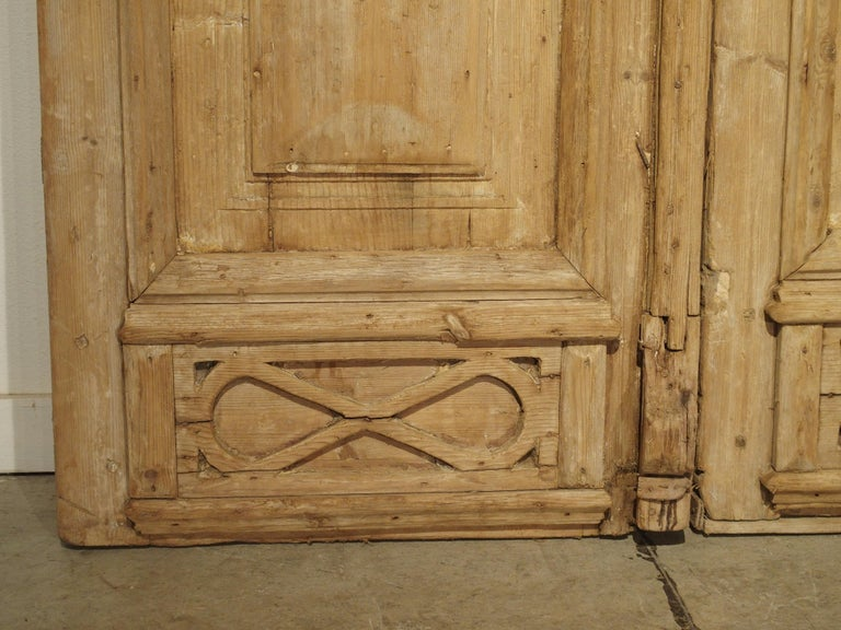 Pair of Antique French Egyptian Doors, Early 1900s For Sale 6