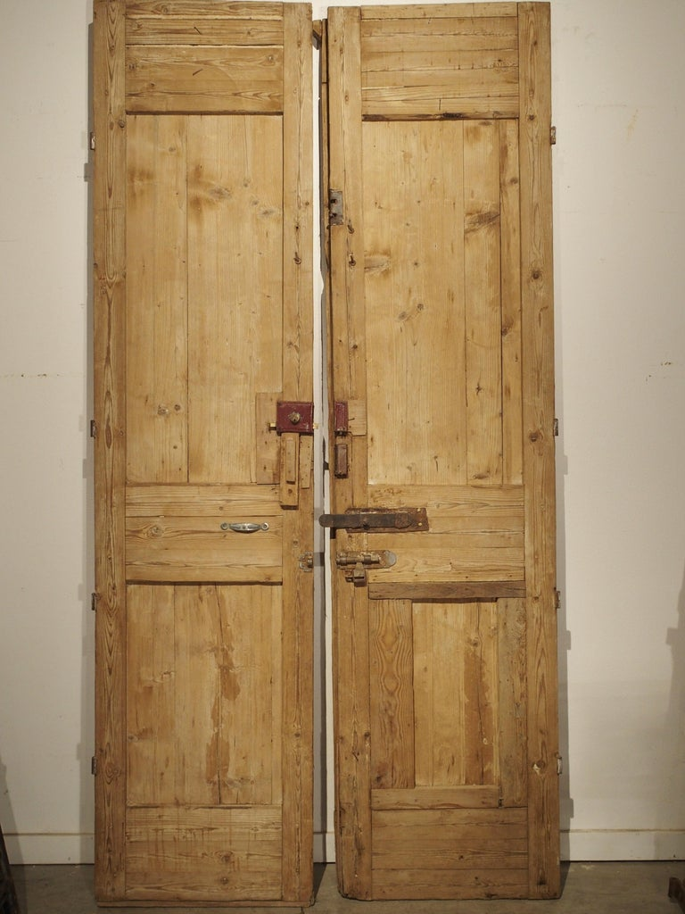 Pair of Antique French Egyptian Doors, Early 1900s For Sale 8