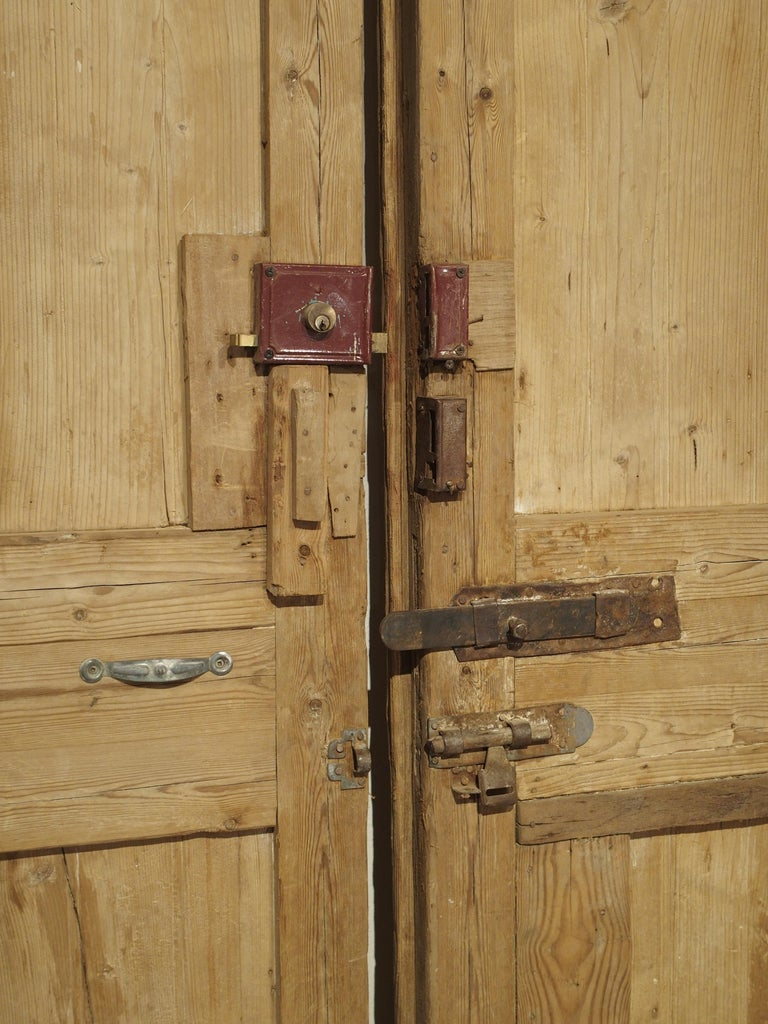 Pair of Antique French Egyptian Doors, Early 1900s For Sale 9
