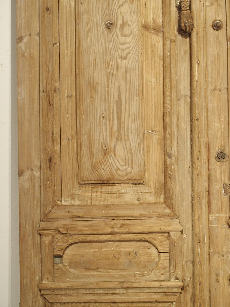 Pair of Antique French Egyptian Doors, Early 1900s For Sale 2
