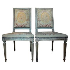 Pair of Antique French Louis XVI Chairs