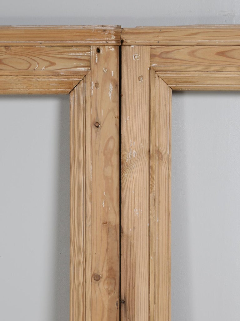 Country Pair of Antique French Pine Doors For Sale - Pair Of Antique French Pine Doors For Sale At 1stdibs