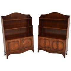 Pair of Antique Georgian Mahogany Bookcases
