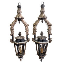 Pair of 18th Century Lanterns or Pendants