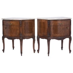 Pair of Antique Louis XV Nightstands