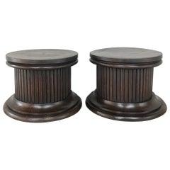 Pair of Antique Neoclassical Pedestals, Risers