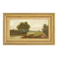 Pair of Antique Paintings, Antique Oil Paintings, Scenics, Scotland 1870, B1529