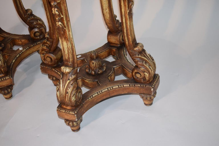 French Pair of Antique Pedestals For Sale