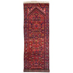 Pair of Antique Persian Malayer Runners, Long Hallway Runners