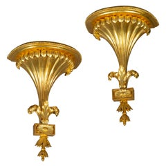 Pair of Antique Regency Wall Brackets or Sconces