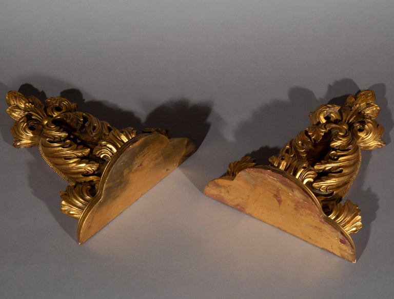 Pair of Antique Style Wall Brackets or Sconces 1