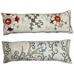 Pair of Antique Suzani Pillow