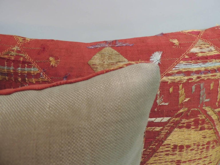Hand-Crafted Pair of Antique Textile