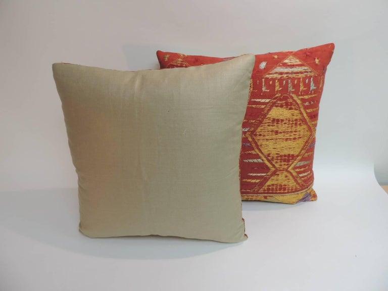 Pair of Antique Textile