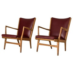 "Pair of ""AP 16"" Lounge Chairs by Hans J. Wegner"