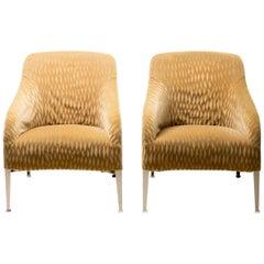 Pair of Apta Armchairs by Antonio Citterio for B & B Italia