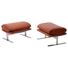 Pair of Arc Stools 'can also be used as a Bench' by Kipp Stewart for Directional
