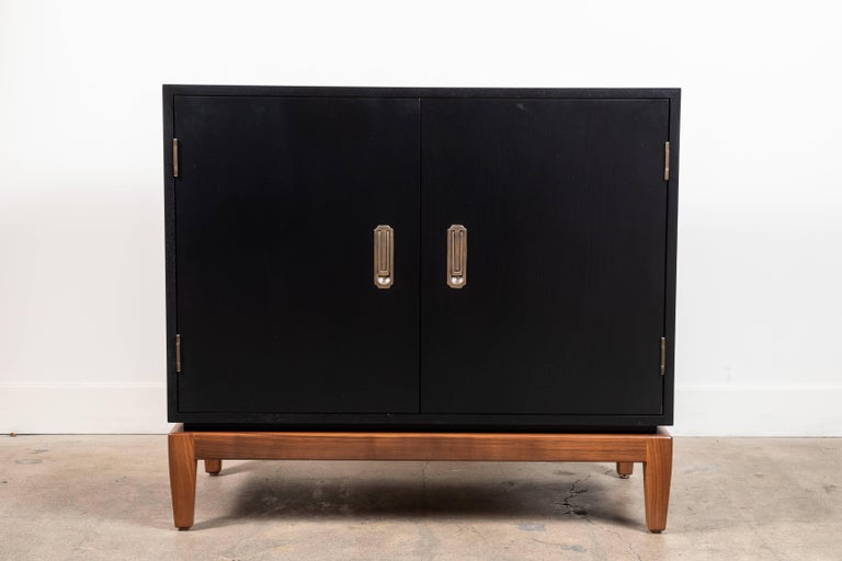 Pair ofarcadia side chests by Lawson-Fenning.  Available to order in various finishes with a 10-12 week lead time.
