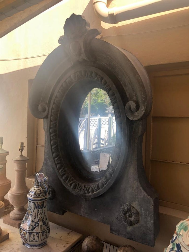 Pair of Architectural Dormer Mirrors 1