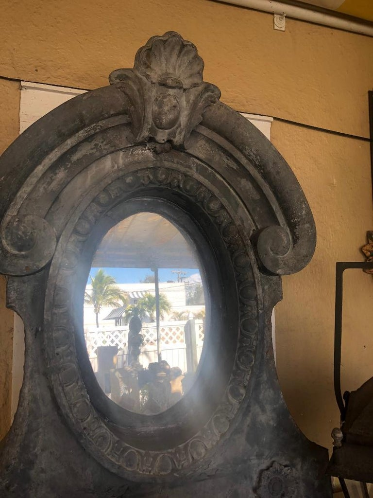 Pair of Architectural Dormer Mirrors 2