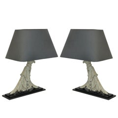 Pair of Architectural Lamps