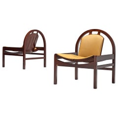 Pair of 'Argo' Lounge Chairs by Baumann