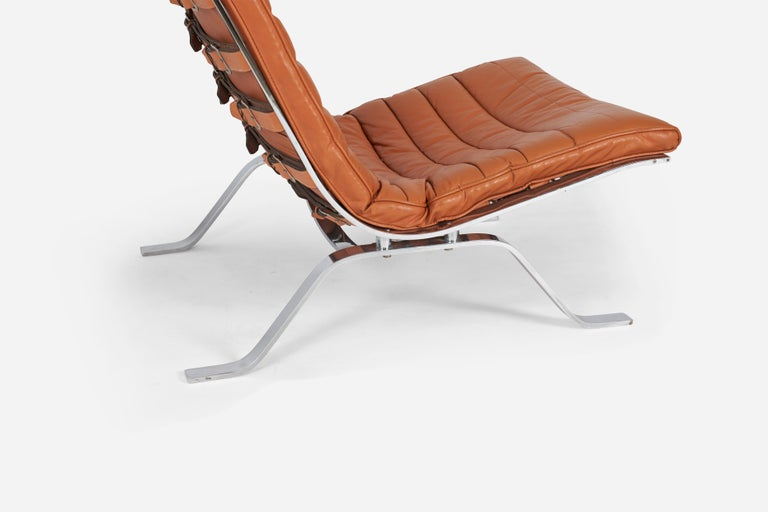 Swedish Pair of Ari Chairs by Arne Norell, Sweden, 1970s For Sale